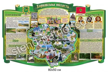 Стенд «Харківська область»