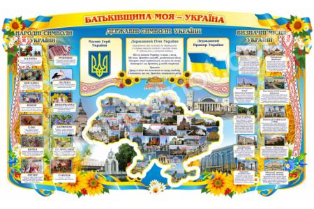 "Стенд патріотичний ""Батьківщина моя - Україна"" Stendua - Стенд Україна"