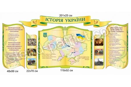 Комплект стендів  «Історія України»
