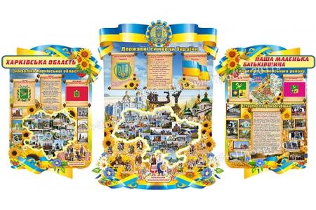 Комплект стендів «Наша Батьківщина»